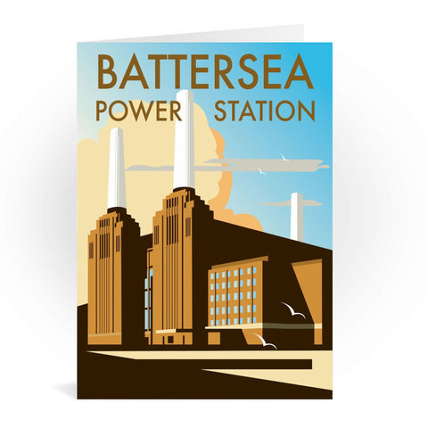 Battersea Power Station Greeting Card 7x5