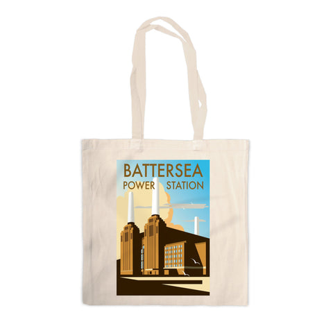 Battersea Power Station Canvas Tote Bag