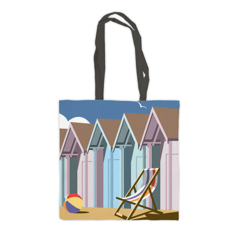 Beach Huts Premium Tote Bag
