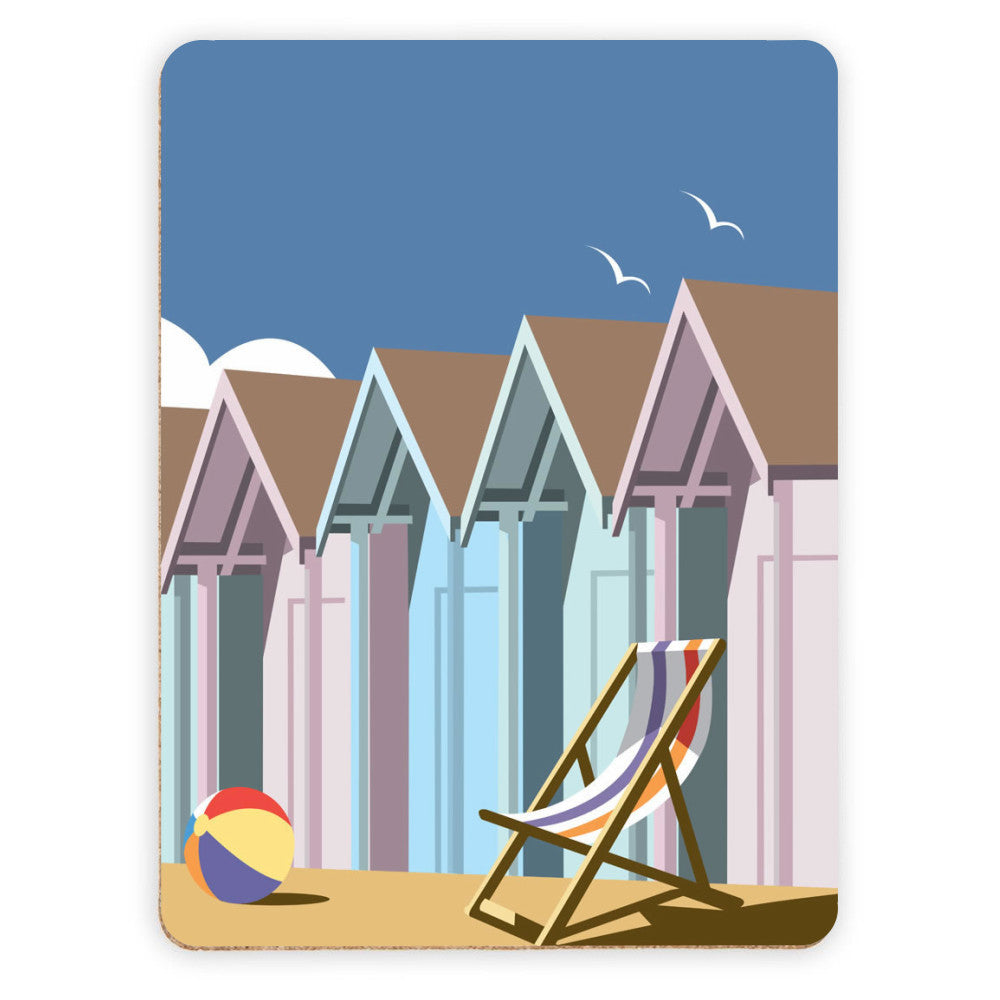 Beach Huts Placemat