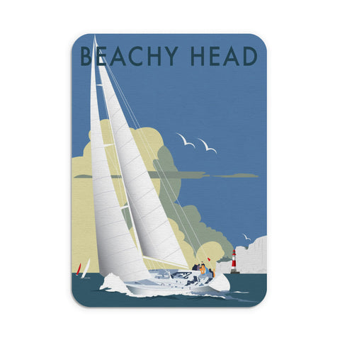 Sailing at Beachy Head Mouse Mat