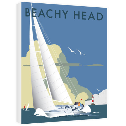 Sailing at Beachy Head Canvas