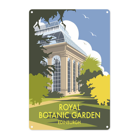 Royal Botanic Garden, Edinburgh Metal Sign
