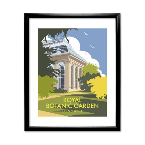 Royal Botanic Garden, Edinburgh 11x14 Framed Print (Black)