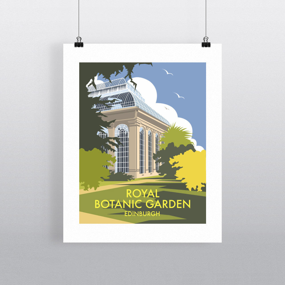 Royal Botanic Garden, Edinburgh Fine Art Print