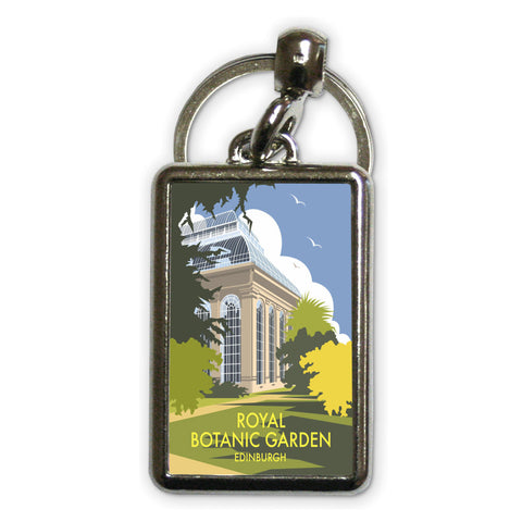 Royal Botanic Garden, Edinburgh Metal Keyring