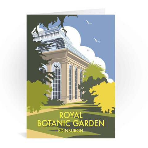 Royal Botanic Garden, Edinburgh Greeting Card 7x5