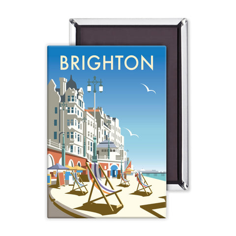 Brighton Beach Magnet