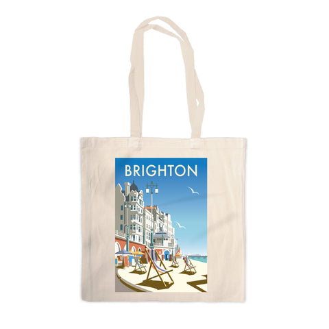 Brighton Beach Canvas Tote Bag