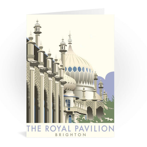 Brighton Pavilion Greeting Card 7x5