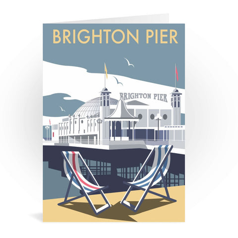 Brighton Pier Greeting Card 7x5