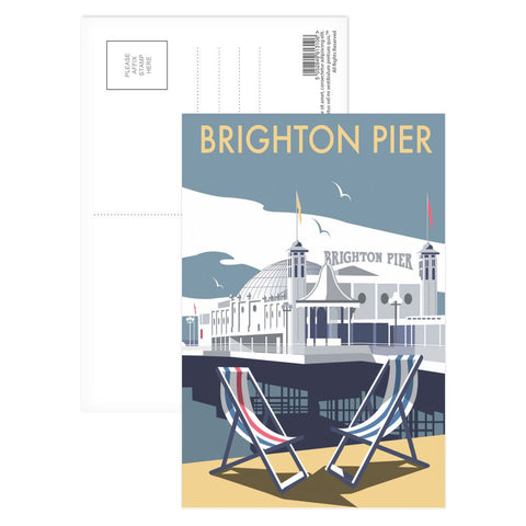 Brighton Pier Postcard Pack