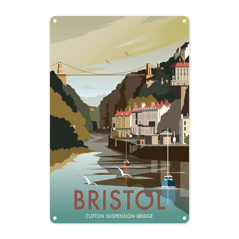 Clifton Suspension Bridge, Bristol Metal Sign