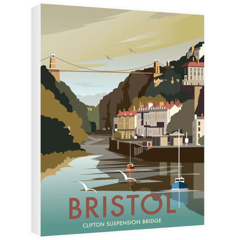 Clifton Suspension Bridge, Bristol Canvas