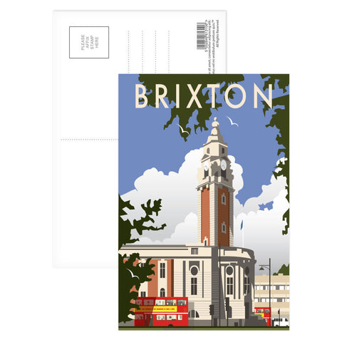 Brixton, London Postcard Pack