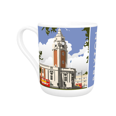 Brixton, London Bone China Mug