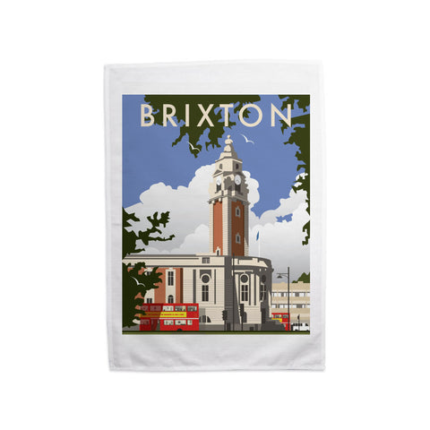 Brixton, London Tea Towel