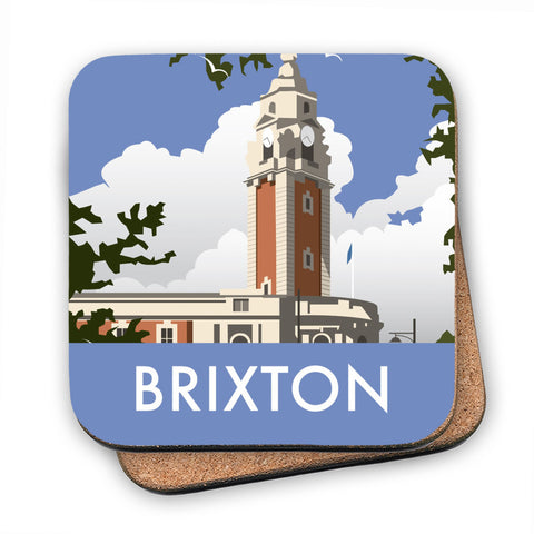 Brixton, London MDF Coaster
