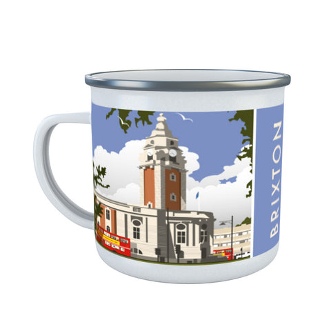 Brixton, London Enamel Mug