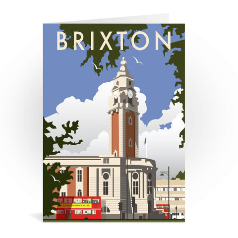 Brixton, London Greeting Card 7x5
