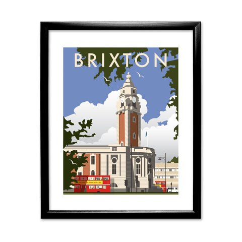 Brixton, London 11x14 Framed Print (Black)