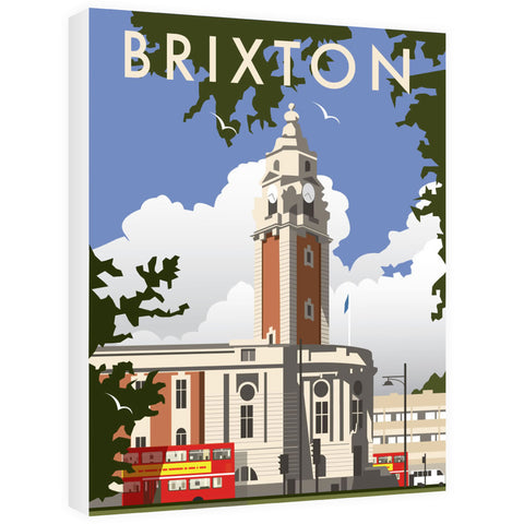 Brixton, London Canvas