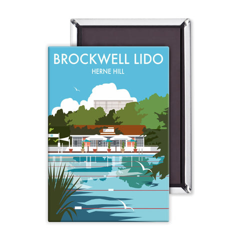 Brockwell Lido, Herne Hill, London Magnet