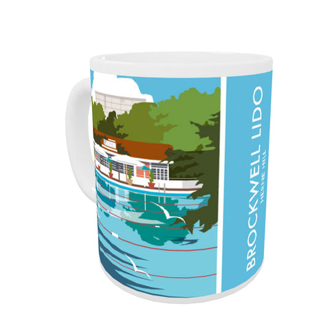 Brockwell Lido, Herne Hill, London Mug