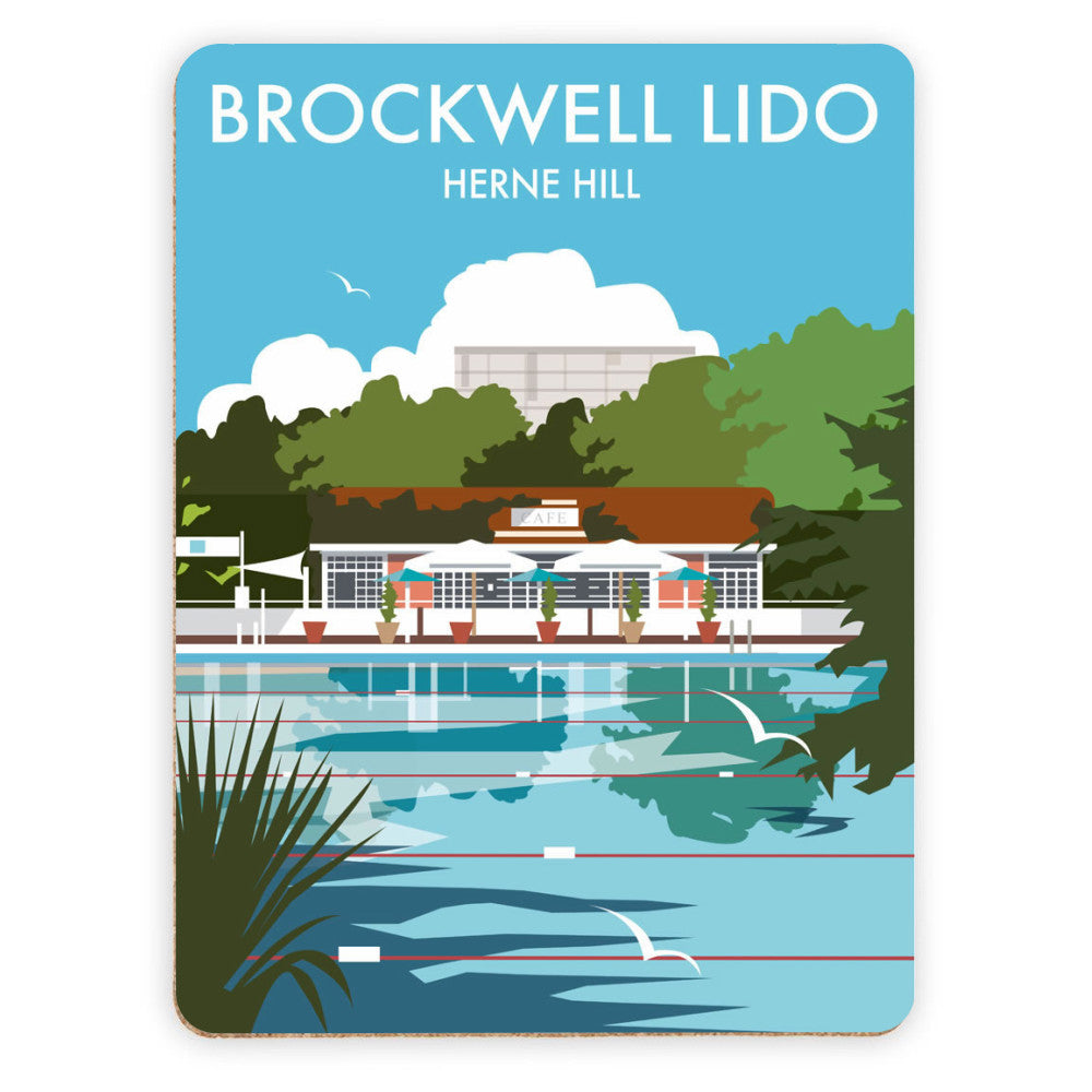 Brockwell Lido, Herne Hill, London Placemat