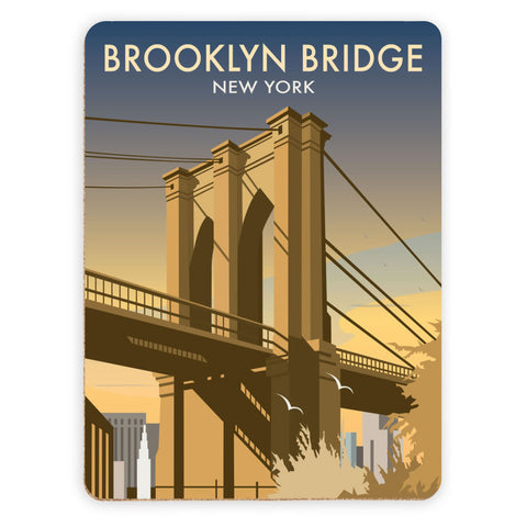 Brooklyn Bridge, New York Placemat