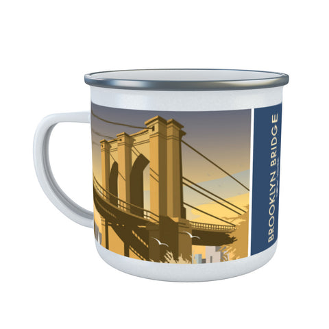 Brooklyn Bridge, New York Enamel Mug