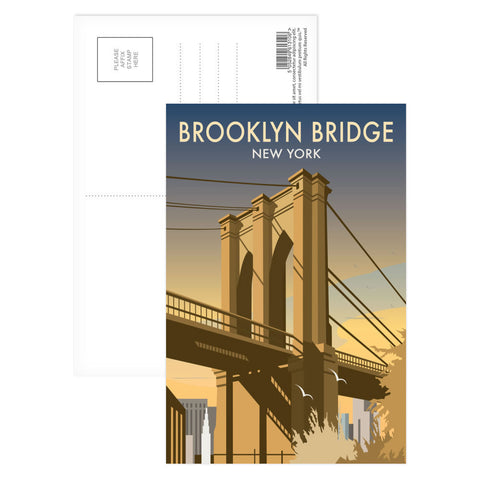 Brooklyn Bridge, New York Postcard Pack
