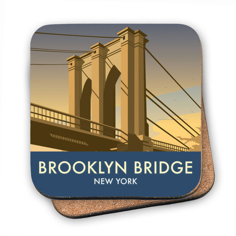 Brooklyn Bridge, New York MDF Coaster