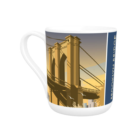 Brooklyn Bridge, New York Bone China Mug