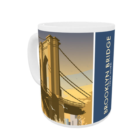 Brooklyn Bridge, New York Mug
