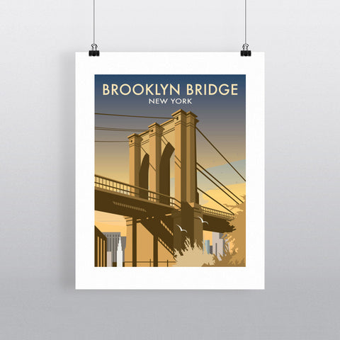 Brooklyn Bridge, New York Fine Art Print