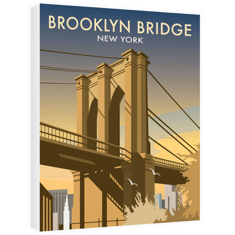 Brooklyn Bridge, New York Canvas
