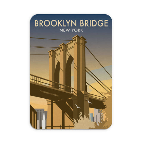 Brooklyn Bridge, New York Mouse Mat