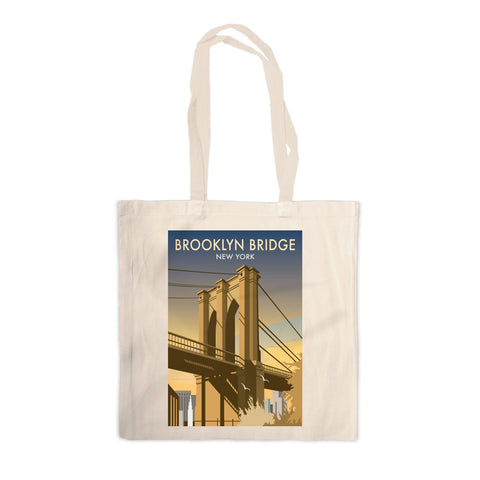 Brooklyn Bridge, New York Canvas Tote Bag