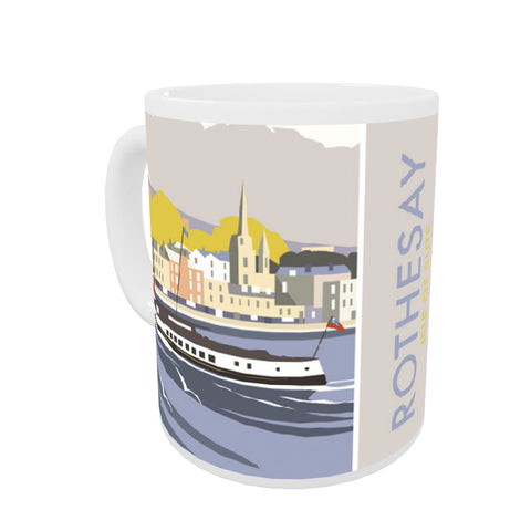 Rothesay, Isle of Bute Coloured Insert Mug