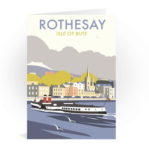 Rothesay, Isle of Bute Greeting Card 7x5
