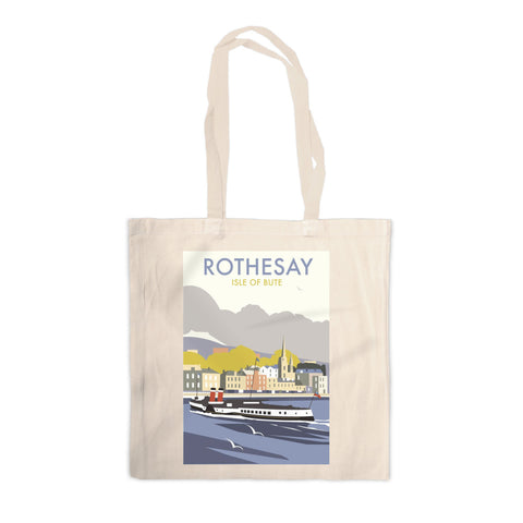 Rothesay, Isle of Bute Canvas Tote Bag