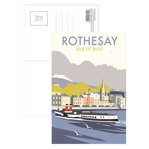 Rothesay, Isle of Bute Postcard Pack