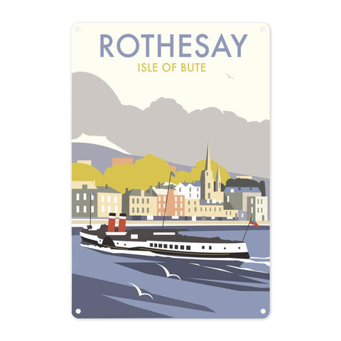 Rothesay, Isle of Bute Metal Sign
