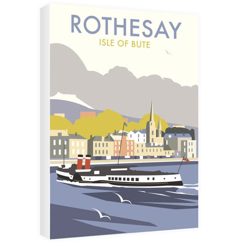 Rothesay, Isle of Bute Canvas