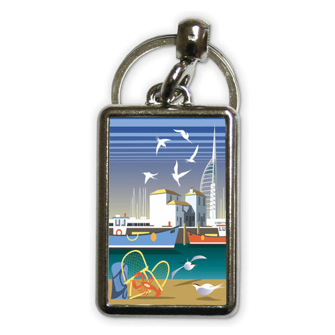 The Camber, Portsmouth Metal Keyring