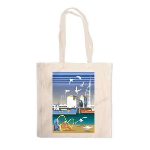 The Camber, Portsmouth Canvas Tote Bag