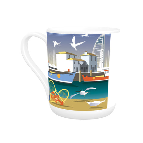 The Camber, Portsmouth Bone China Mug