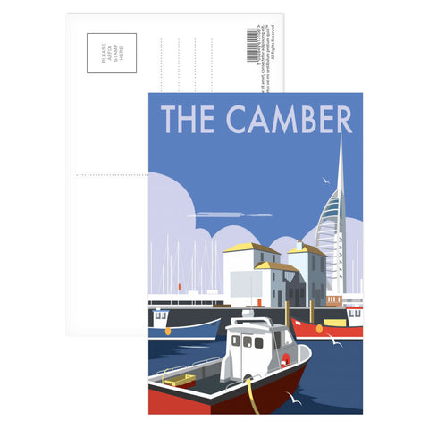 The Camber, Portsmouth Postcard Pack