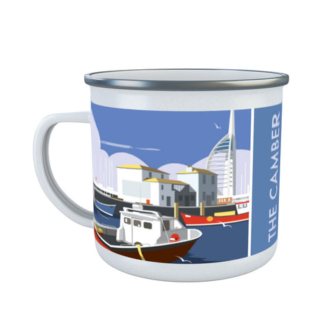The Camber, Portsmouth Enamel Mug